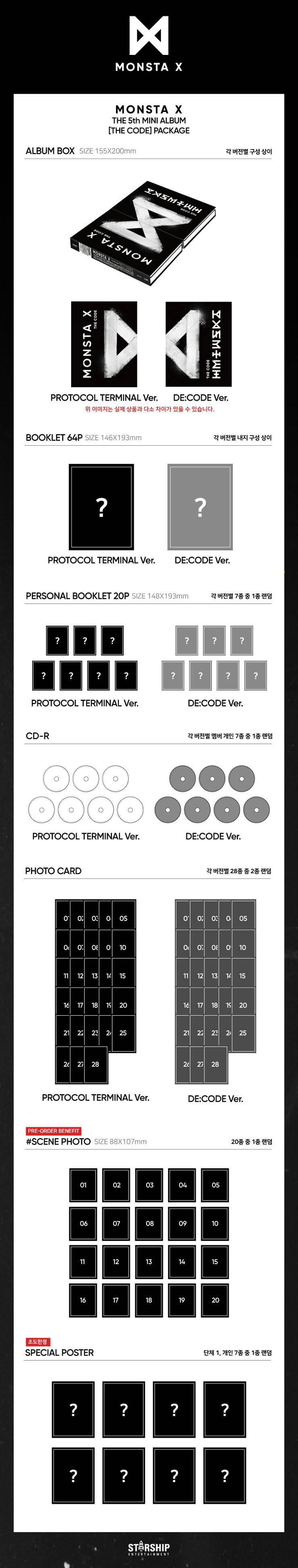 MONSTA X - THE CODE [Protocol Terminal Ver ] | MUSIC KOREA