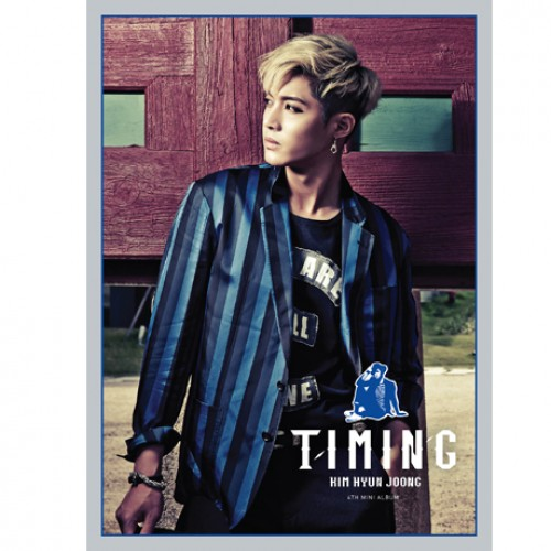KIM HYUN JOONG - TIMING [4th Mini Album]