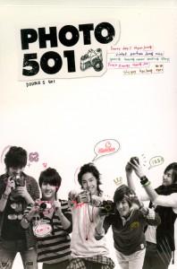 SS501(더블에스501) - SS501 PHOTO 501 [포토북: 500 페이지 올컬러+DVD]