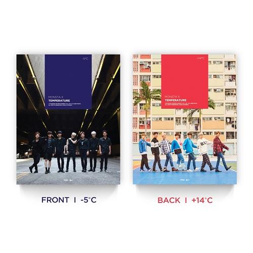 MONSTA X - TEMPERATURE Photobook | MUSIC KOREA
