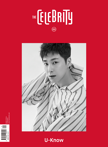 THE CELEBRITY VOL.3 Cover:U-KNOW [Red Ver.]