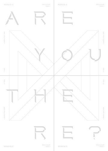 MONSTA X - 2nd Album Take.1 ARE YOU THERE? [Ver.I]