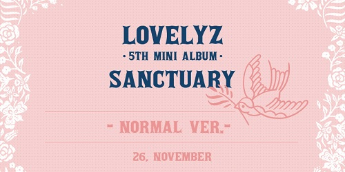 LOVELYZ - SANCTUARY [Normal Edition]