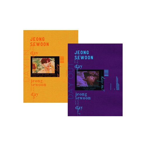 JEONG SE WOON - DAY [Day In Ver.]