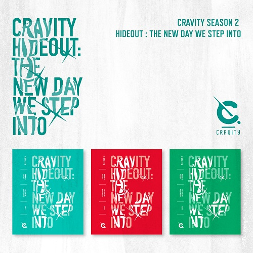 CRAVITY - SEASON2. HIDEOUT: THE NEW DAY WE STEP INTO [Ver.1]