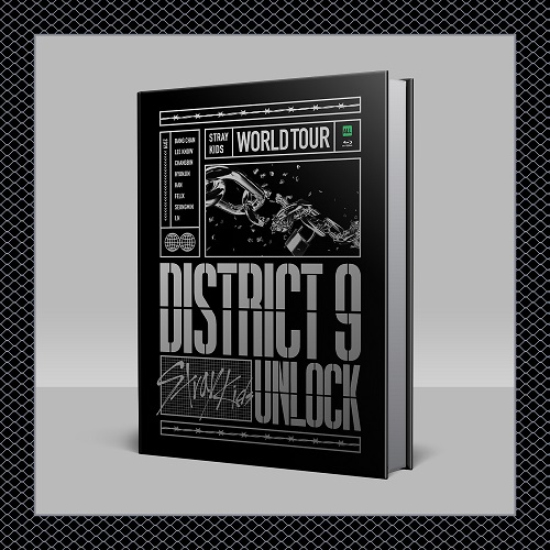 STRAY KIDS - World Tour District 9 : Unlock in SEOUL Blu-ray