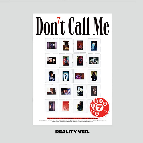 SHINEE - DON'T CALL ME [PhotoBook - Reality Ver.]