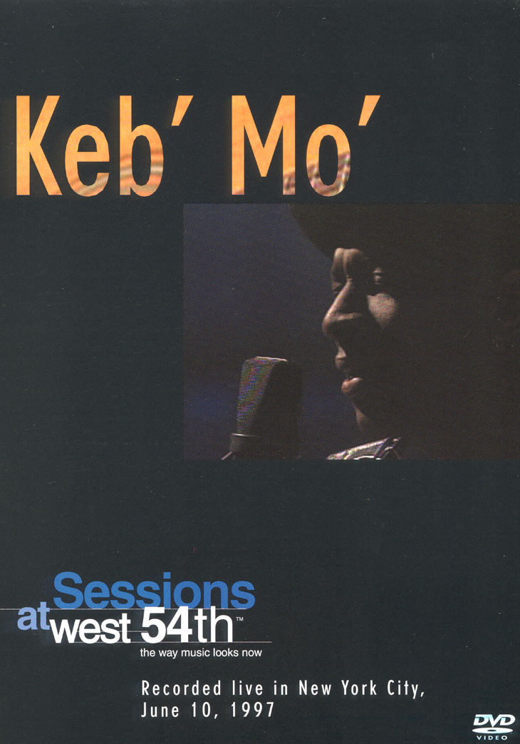 KEB' MO' - SESSIONS AT WEST 54TH : RECORDED LIVE IN NEW YORK [수입]