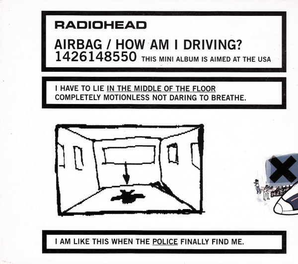 RADIOHEAD - AIRBAG : HOW AM I DRIVING? [LIMITED EDITION EP][수입]