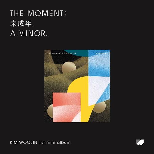 KIM WOO JIN - The moment : 未成年, a minor. [B Ver.]