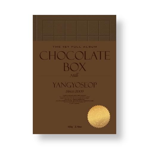 YANG YO SEOP - CHOCOLATE BOX [Milk Ver.]