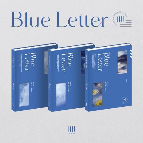 WONHO - BLUE LETTER [Ver.I]