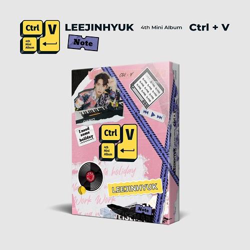LEE JIN HYUK - Ctrl+V [Note Ver.]