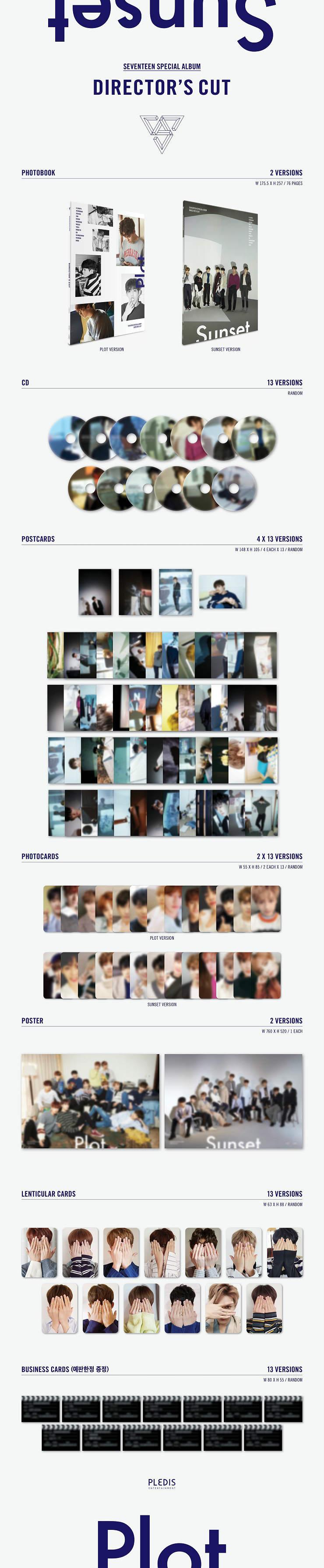 Image result for seventeen special album director's cut